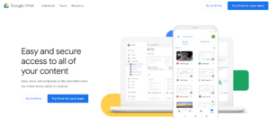 Google Drive tool for Work from home