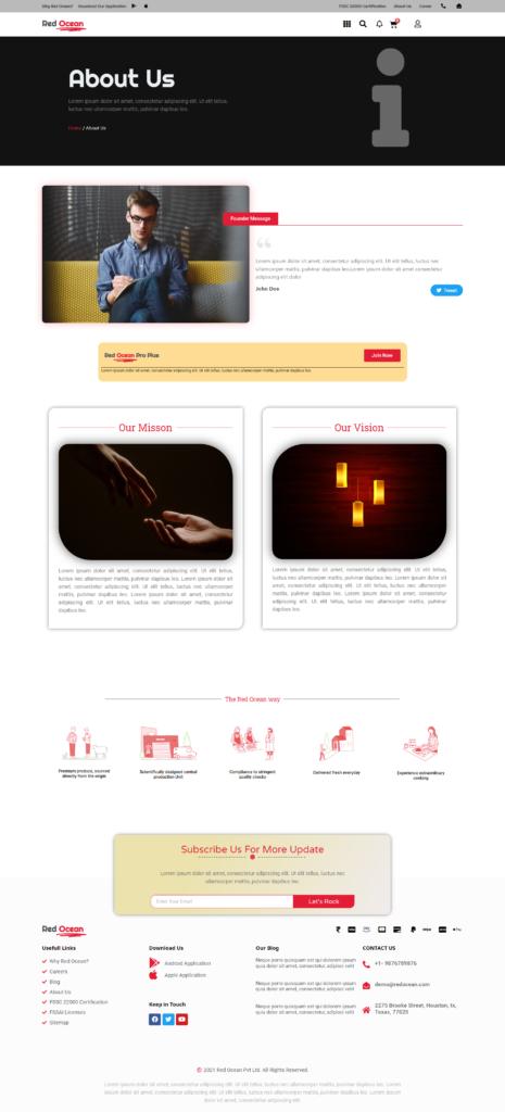 Red Ocean-Website Template Kits 3