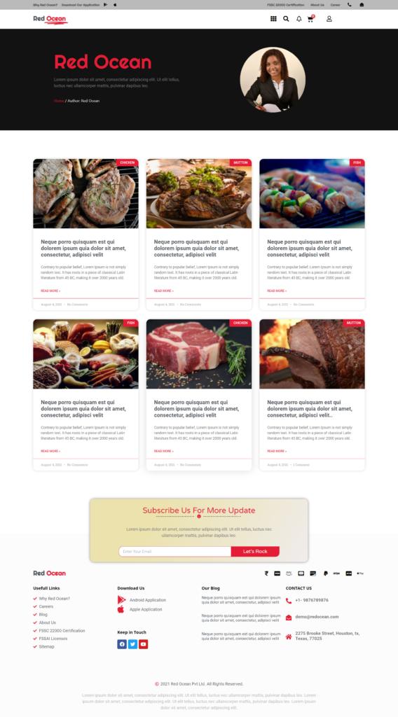 Red Ocean-Website Template Kits 25