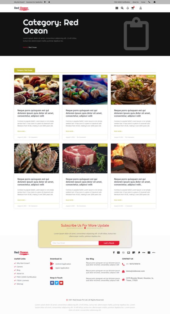 Red Ocean-Website Template Kits 22
