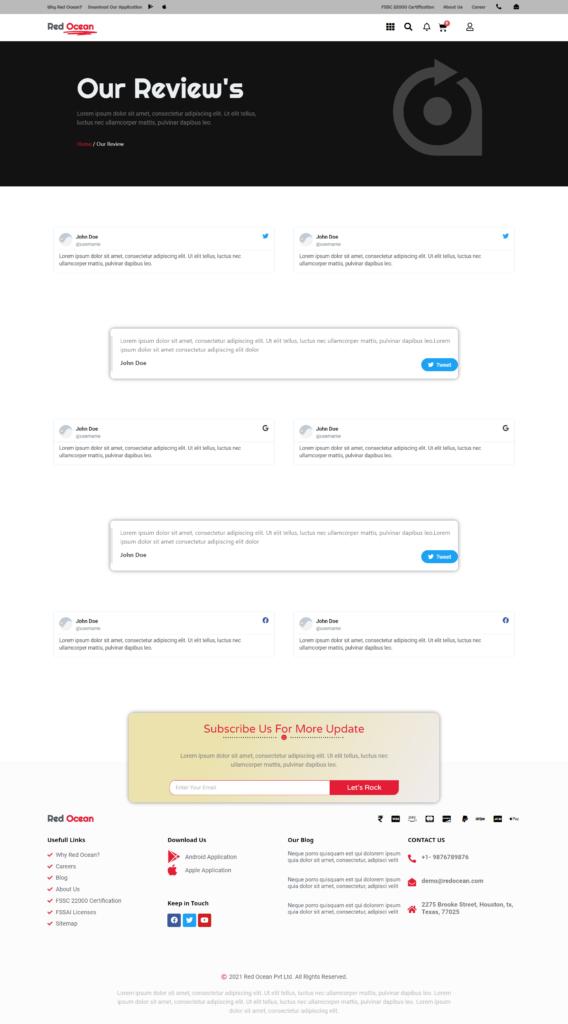 Red Ocean-Website Template Kits 15