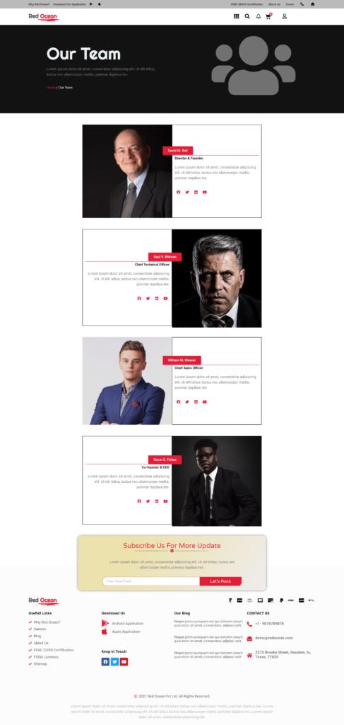 Red Ocean-Website Template Kits 4