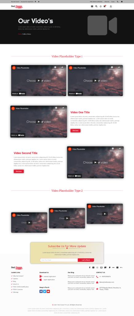 Red Ocean-Website Template Kits 18