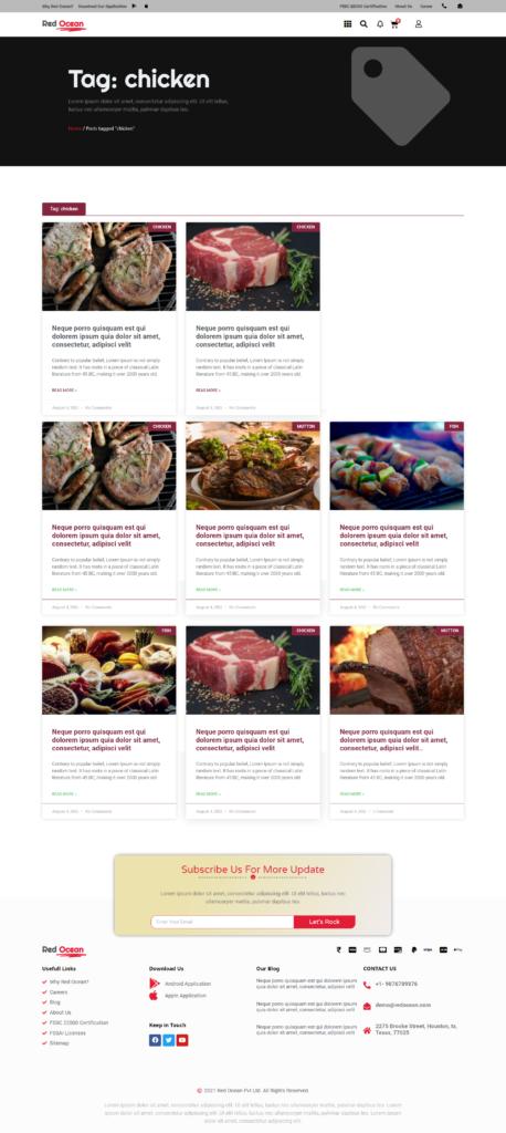 Red Ocean-Website Template Kits 23